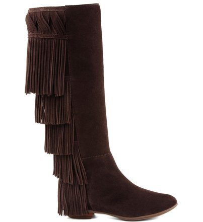 BOTA FRANJAS BOHO BROWN