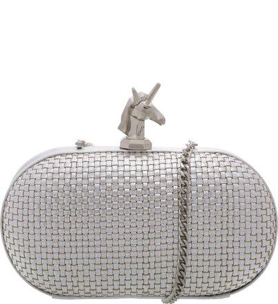 Clutch Unicorn Prata | Schutz
