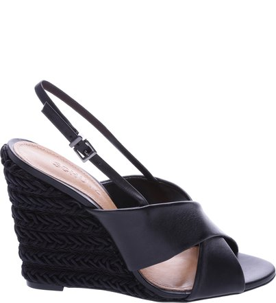 Anabela Braid Black | Schutz