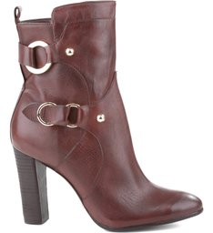 BOTA BLOCK HEEL DOUBLE BUCKLE HOT CHOCOLATE
