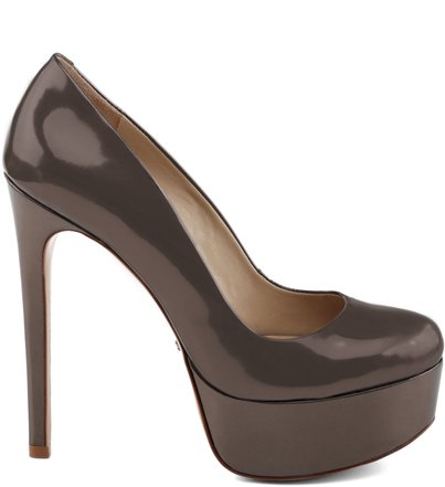 SCARPIN RETRÔ DIVA HIGH PLATINUM