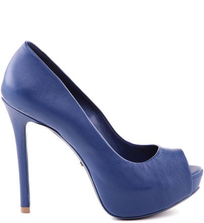 PEEP TOE BLUE