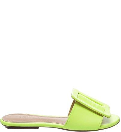 Flat Fivela Neon Yellow | Schutz