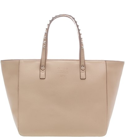 Tote Shopping Classic Studs Nude | Schutz