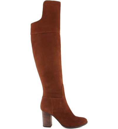 Bota High Over The Knee  Wood | Schutz