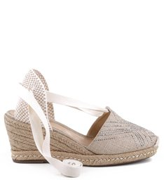 ESPADRILLE BORDADA NATURAL