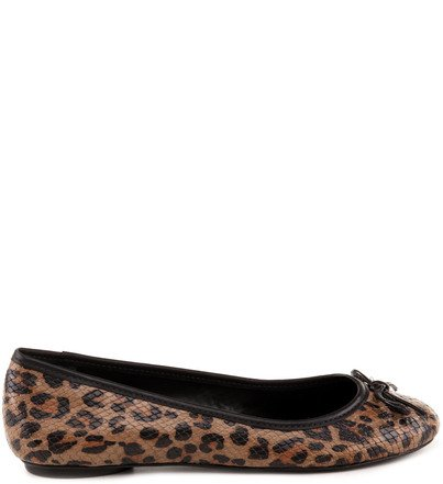SAPATILHA ANIMAL PRINT NATURAL
