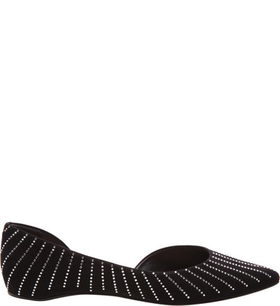 Sapatilha Bico Fino Glam Black | Schutz