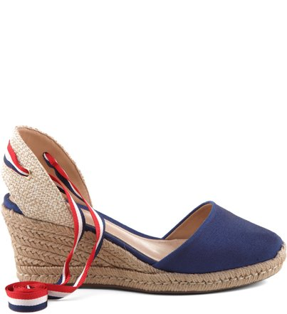 ESPADRILLE STRIPED BLUE