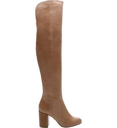 Pré Venda Bota Over The Knee Salto Médio Caramel | Schutz