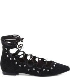 SAPATILHA LACE UP METALS BLACK