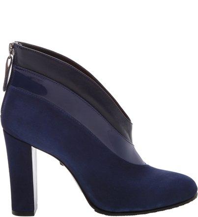 Ankle Boot Cava Camurça Blue | Schutz