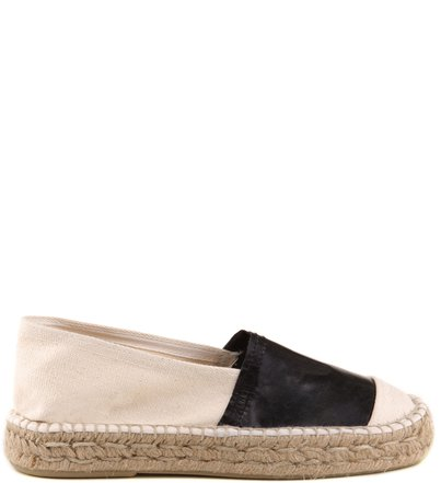 ESPADRILLE TRIPLE DETAIL NATURAL