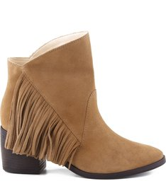 FOLK FRINGES BOOT SAND STONE