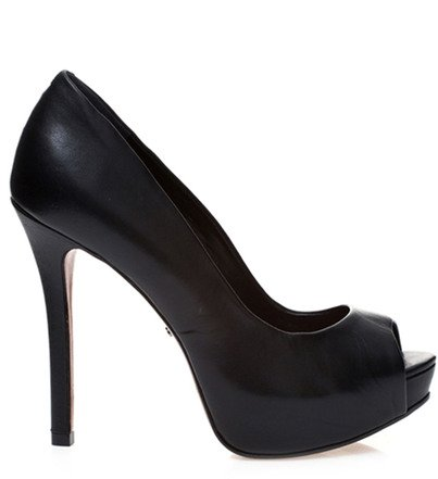 PEEP TOE ESSENTIALS BLACK