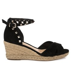 ESPADRILLE SPIKES BLACK