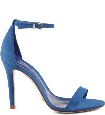 SANDALIA SINGLE NOBUCK BLUE