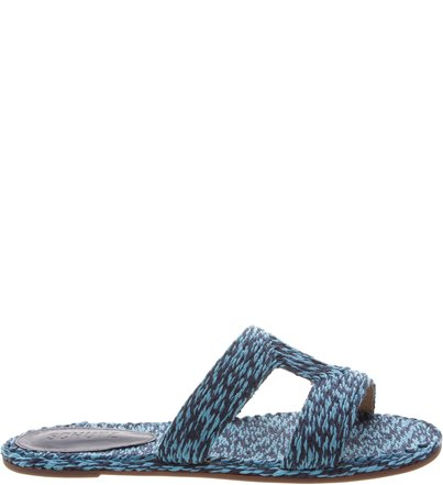 Rasteira Slide Bordada Blue | Schutz