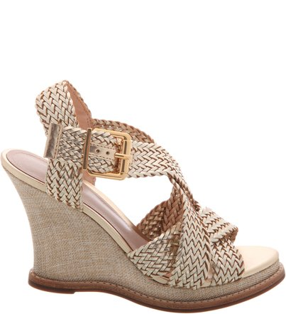 Anabela Double Braid Platina | Schutz