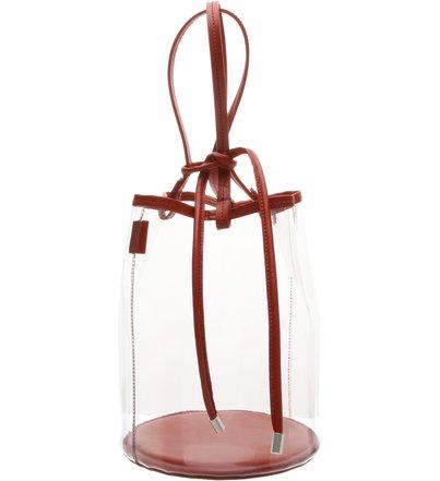 Bucket Bag Vinil Crystal Red | Schutz