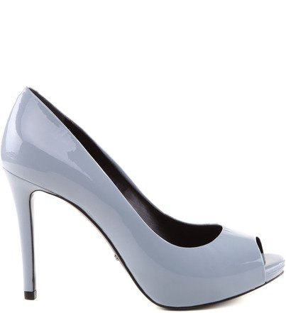 PEEP TOE LIGHT BLUE