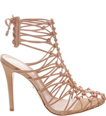 Sandal Boot Lace-Up Neutral | Schutz