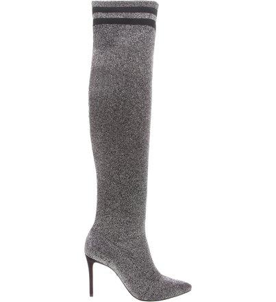 Sock Boot Alta Silver   Schutz
