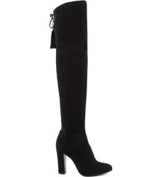 MAXI OVER THE KNEE BLACK