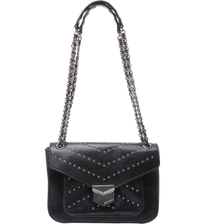 Shoulder Bag Rosie Studs Black | Schutz