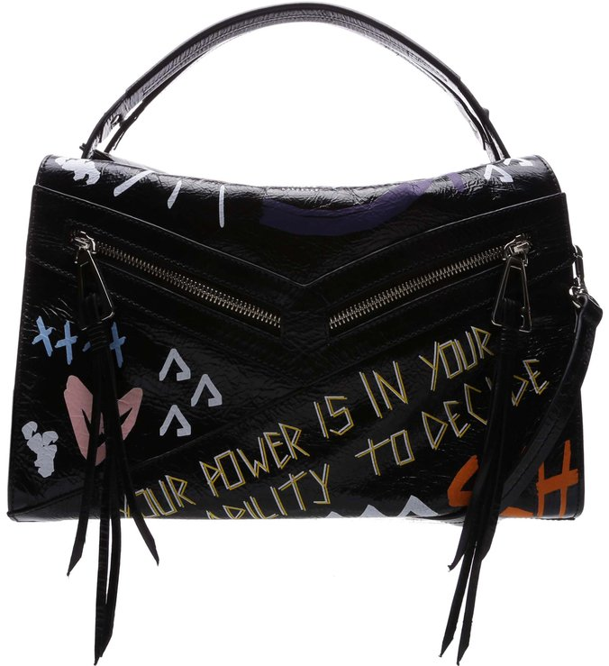[Back In Store] Handbag Suri Grafite Street Black | Schutz
