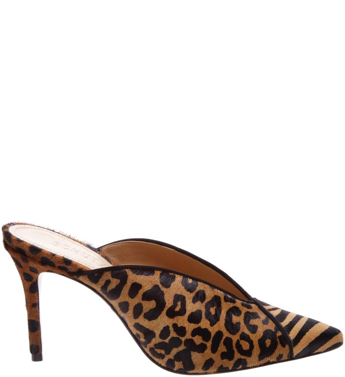 Mule Salto Animal Print Mix | Schutz
