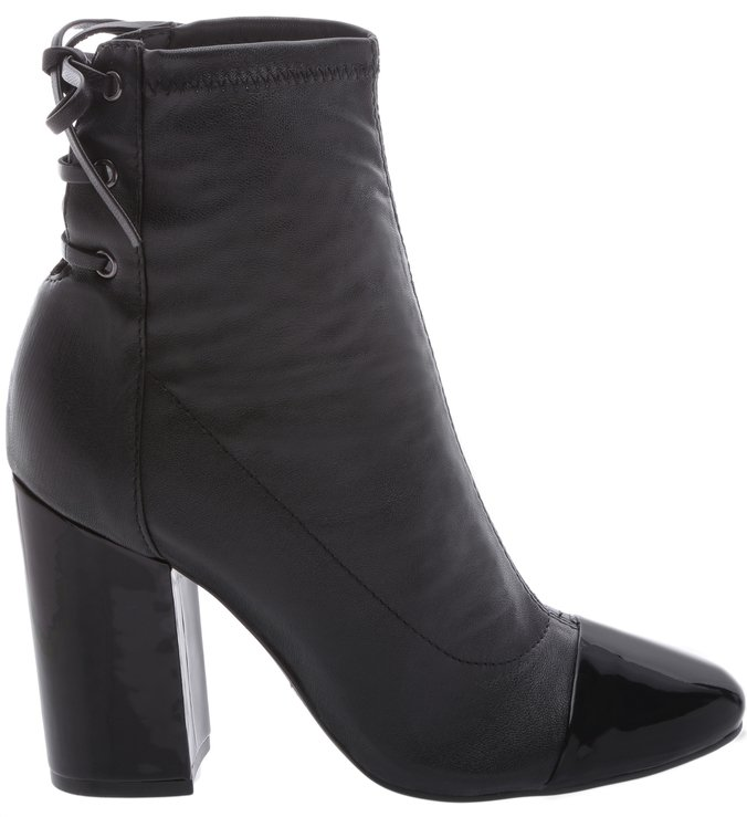 Ankle Boots Strech Double Black | Schutz