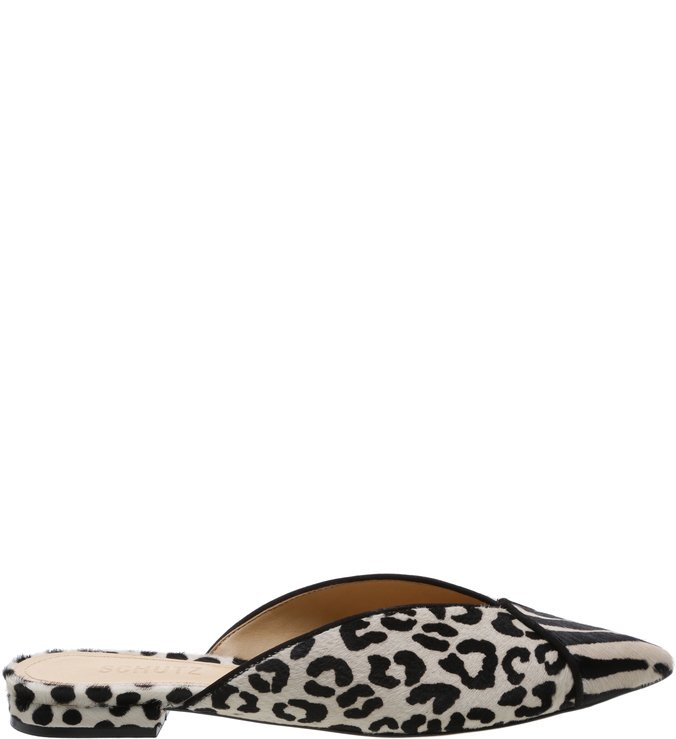 d5be2140f Flat Mule Animal Print Mix P&B | Schutz | iLovee