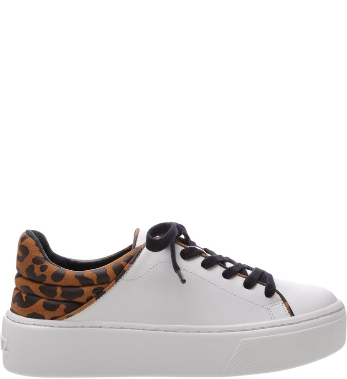 Tênis S-Oxy White Animal Print | Schutz