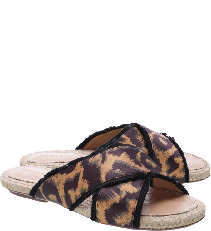 Slide Tiras Animal Print | Schutz