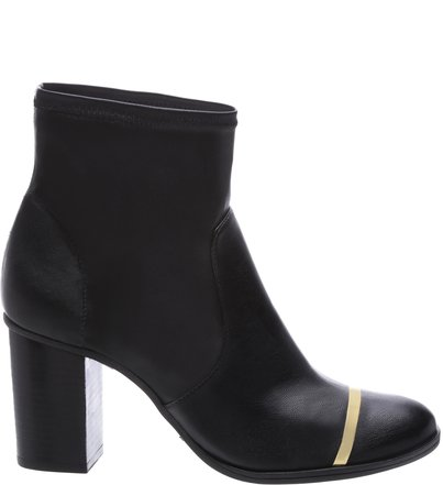 Ankle Skinny Boot Metal Black | Schutz